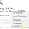 Copy Link Text – 🦊 Firefox (ja) 向け拡張機能を入手